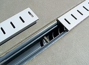 inground pool deck drain -- strip drain