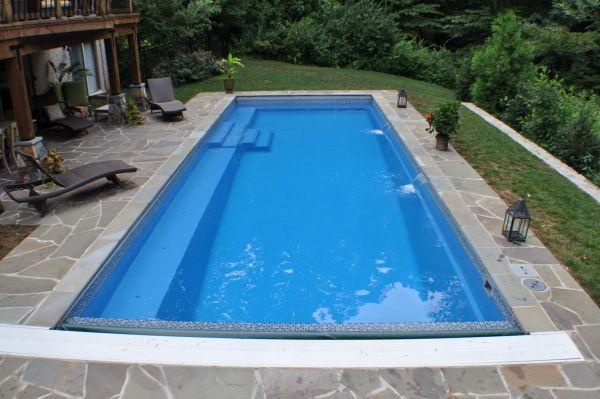 gunite pools versus fiberglass pools which looks nicer