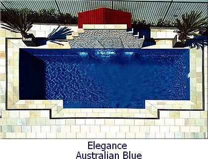 elegance fiberglass pool model