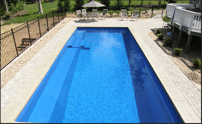 What are the Biggest and Smallest Sizes for Fiberglass Pools?