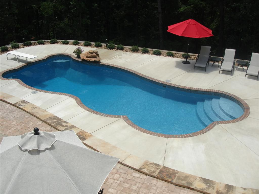 The Best Inground Fiberglass Swimming PoolsDesigns of 2013