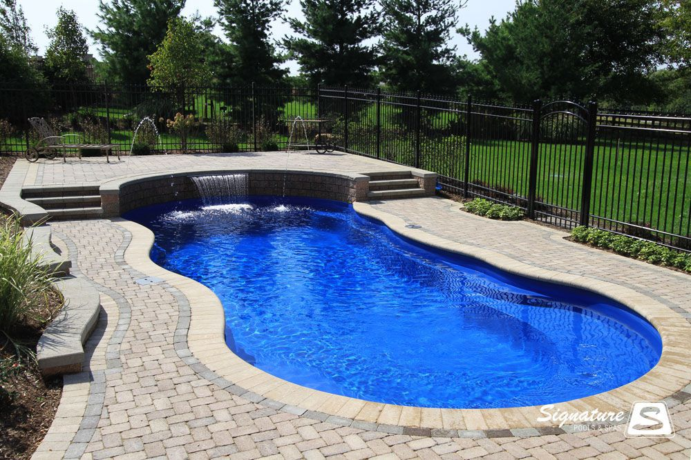 Captivating Brick Pool Coping Signature Pools