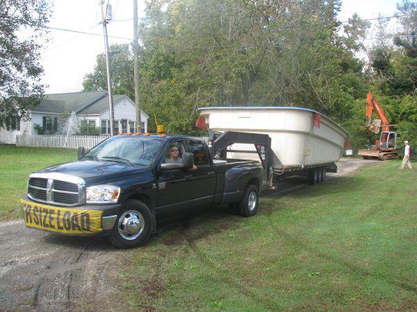 Fiberglass Pool Delivery