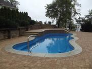 fiberglass Pool 15 x 30 installed by river pools and spas in fredericksburg va