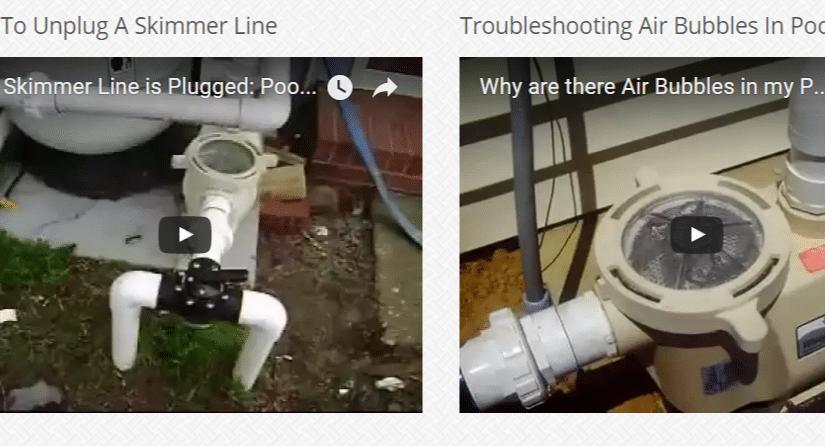 swimming pool maintenance videos