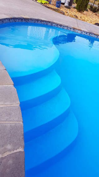 River Pools Crescent Cove pool steps