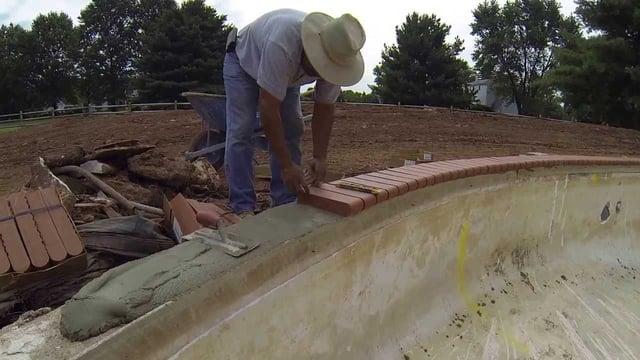 Concrete pool construction time - concrete vs. vinyl liner pools