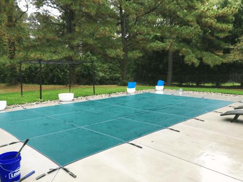 rectangular pool cover
