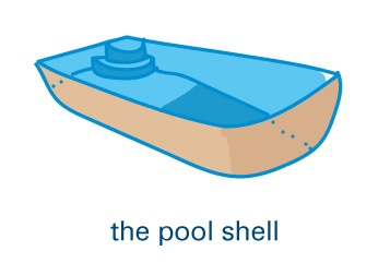 pool shell (illustration)