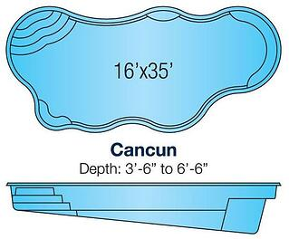 Viking Cancun pool blueprint/specs