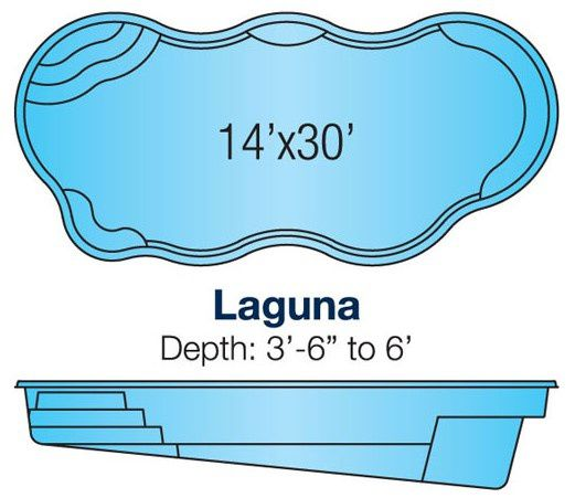 Viking Laguna pool specs/blueprint