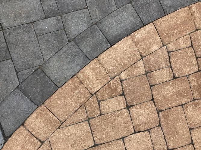 Pavers for a pool patio