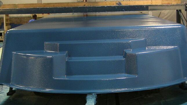 Vinyl Ester Barrier Coat - Can Water Behind a Fiberglass Pool Cause Osmotic Blisters?
