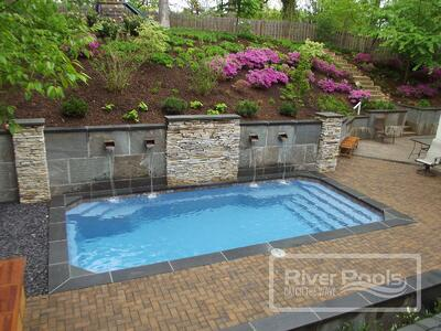Pool Retaining Walls For Sloped Yards Cost Materials And More
