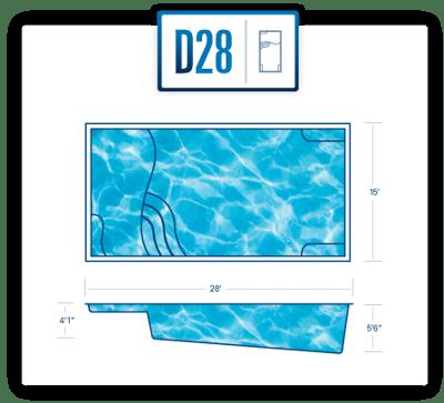D28 pool diagram