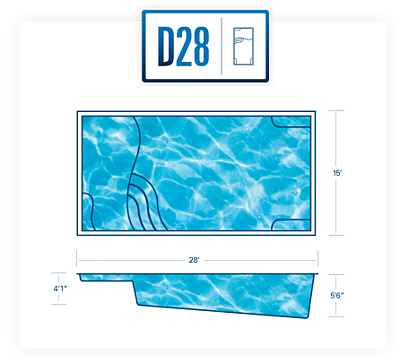 D28 pool diagram