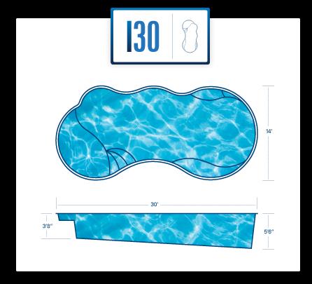 River Pools I30 pool specs/blueprint