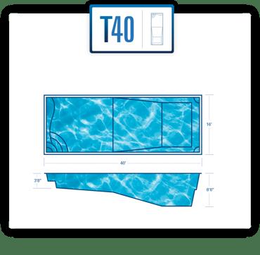 T40 pool diagram