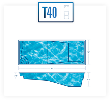 T40 pool diagram