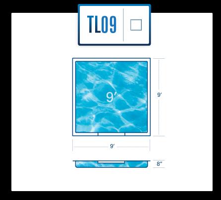 TL09 tanning ledge diagram