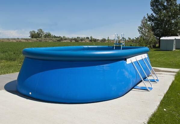 above ground swimming pool - soft side pool