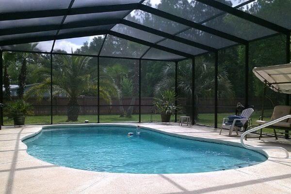 pool enclosure for inground pool