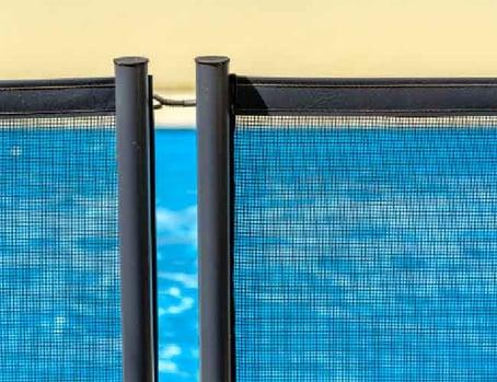 mesh pool safety gate