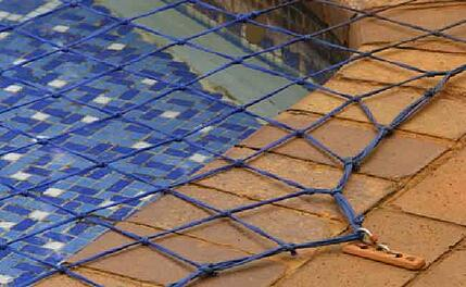pool safety net on inground pool