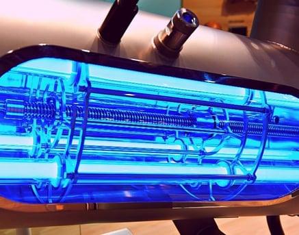 uv light for pool sanitation