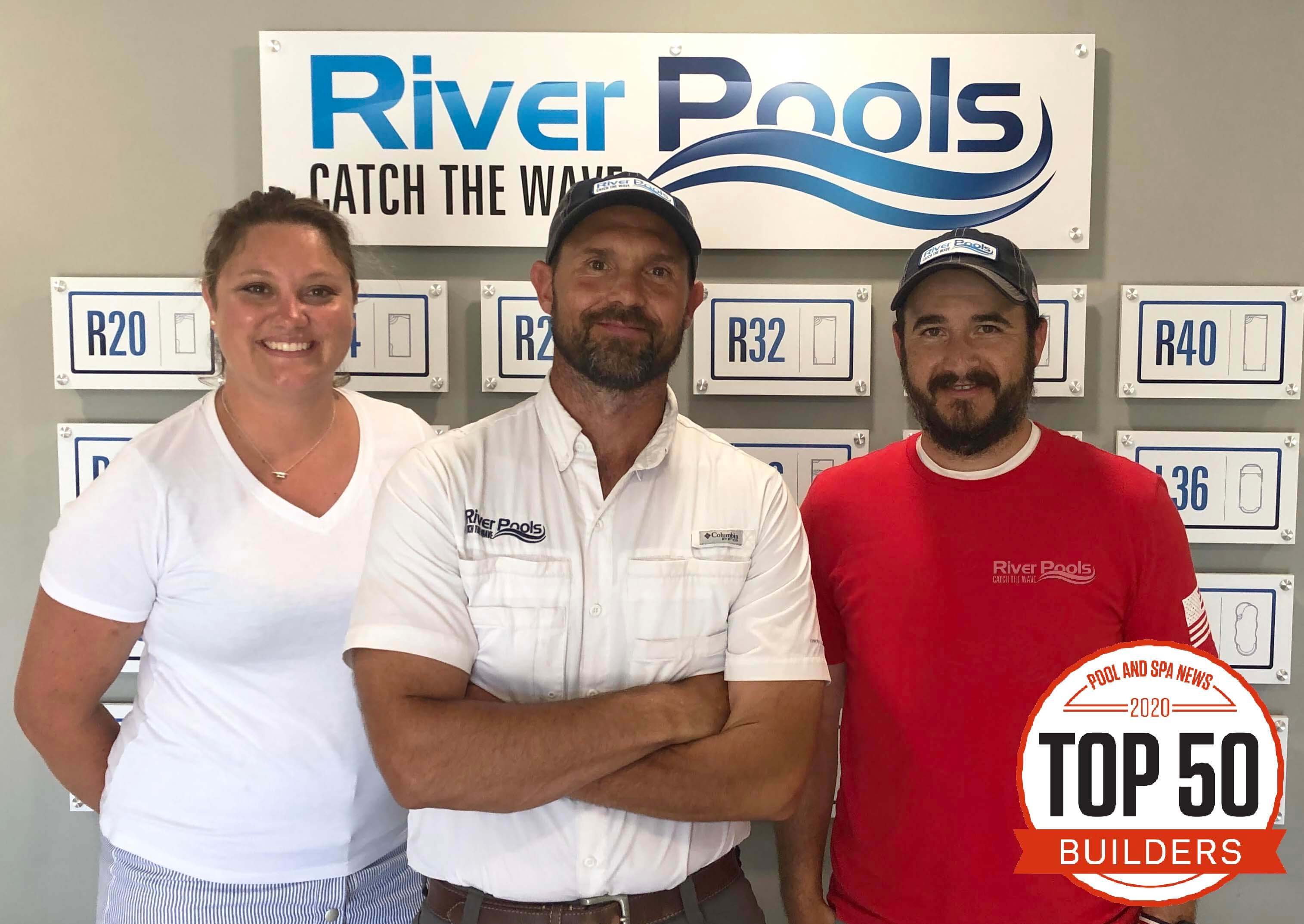 River Pools named a top 50 pool builder for 2020