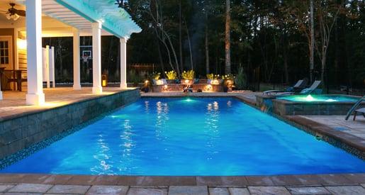 Large fiberglass pool - establishing your pool budget