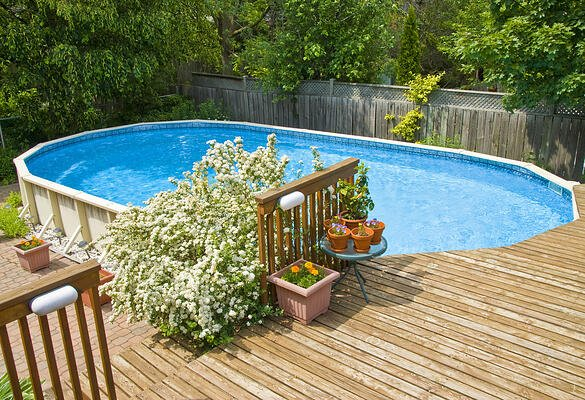 above ground swimming pool installers Virginia