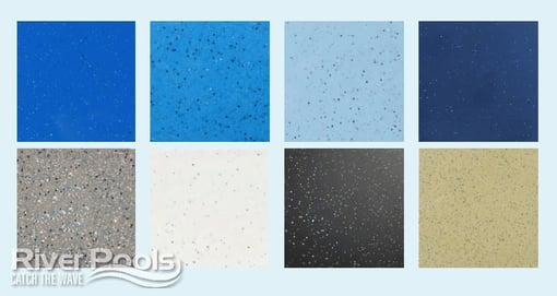 Fiberglass pool color options