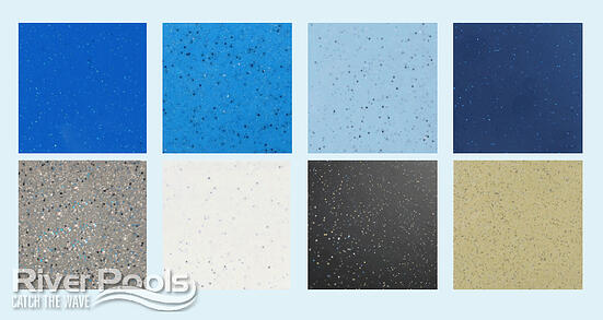 Fiberglass pool colors