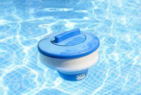 floating pool chlorine dispenser - seven pool sanitizers to consider