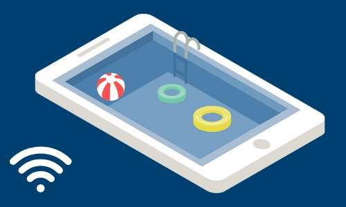 How to get outdoor wi-fi for your pool