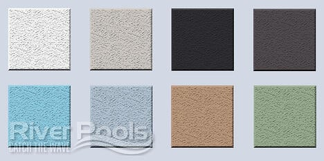 Pool plaster colors