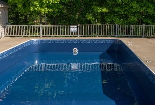 Vinyl liner inground pool - swimming pool installers Virginia