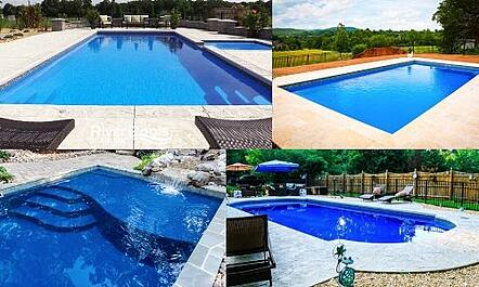 Our fiberglass pools - gelcoat vs epoxy paint