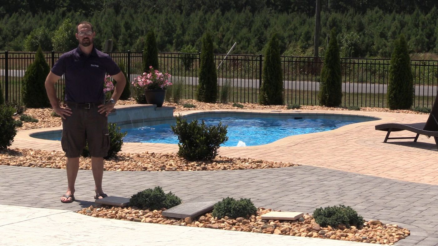How Hot Do Swimming Pool Patios Get? Temperature Comparison: Concrete Vs  Pavers Vs Bluestone Vs Travertine