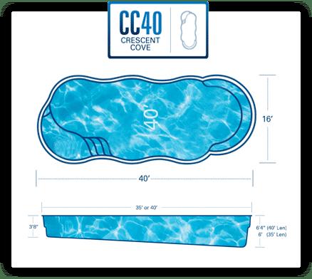 Crescent Cove 40 diagram