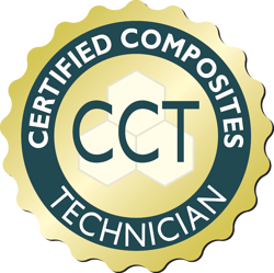 Certified Composite Technician (CCT) seal 2019
