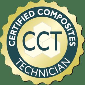 Certified Composite Technician (CCT) seal 2019