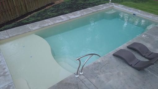 Fiberglass swimming pool - fiberglass pool kit information