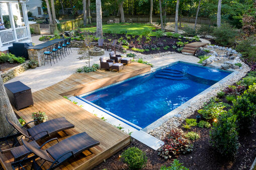 Turn key fiberglass pool package - how much does a fiberglass pool cost in Texas and where to buy one