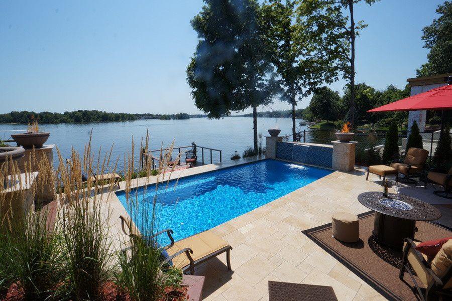 Finding the perfect fiberglass pool design