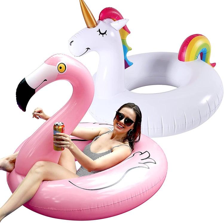 inflatable-flamingo-unicorn-2-pack-pool-float