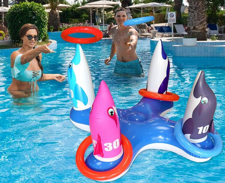 inflatable-ring-toss-pool-game