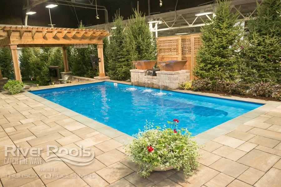 rectanglular pool design