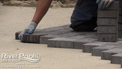 Inground swimming pool pavers - installation, comparisons, and pros and cons